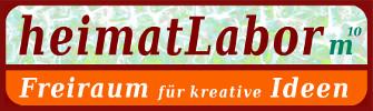 "Logo ""heimatLabor m10"", Frauenau © Gine Selle 2016"